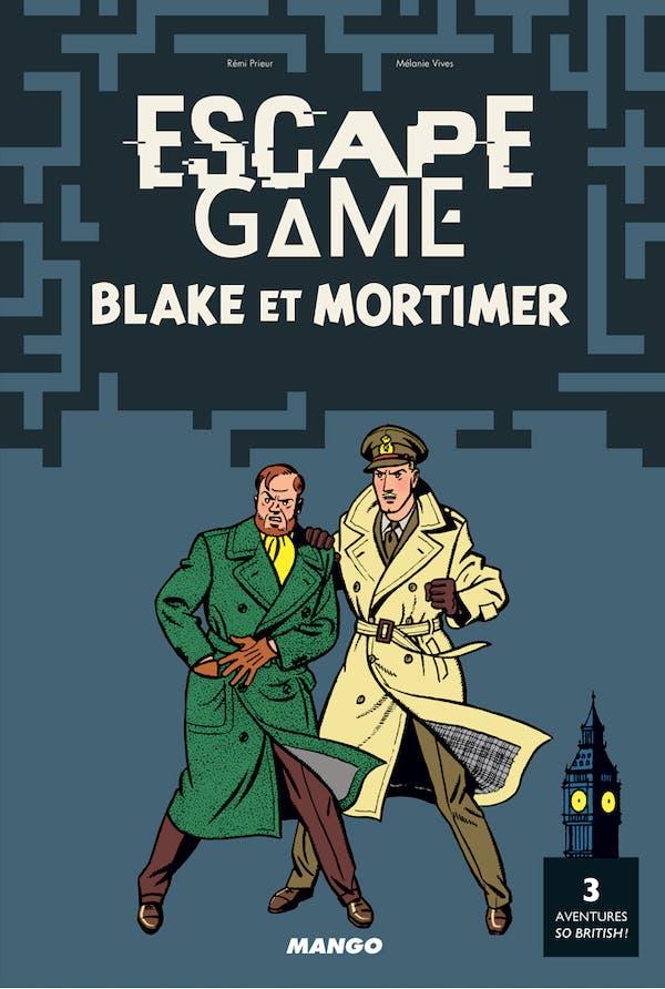 EscapeGame BlakeetMortimer: 3aventures soBritish