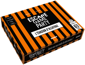 Escape Game Party : L'Évasion d'Alcatraz