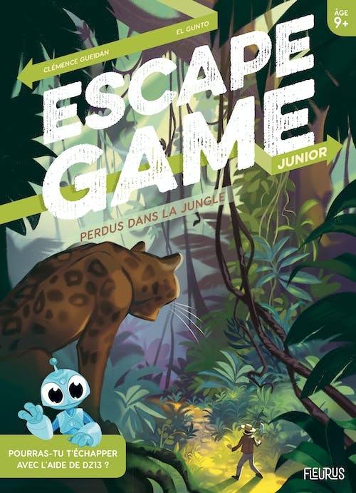 Escape Game Junior : Perdus dans la Jungle