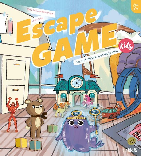 EscapeGame Kids: Pars en mission avec tes jouets !