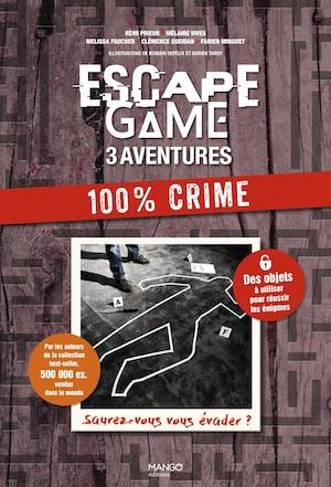 Escape Game 3 aventures : 100% Crime
