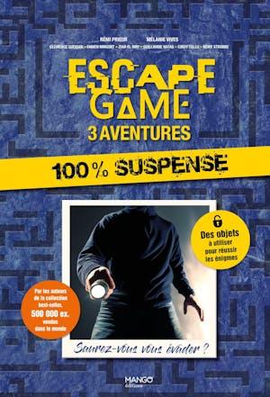 Escape Game 3 aventures : 100% Suspense
